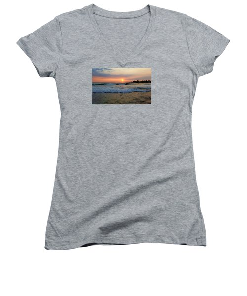 Peaceful Dreams Women's V-Neck (Athletic Fit)