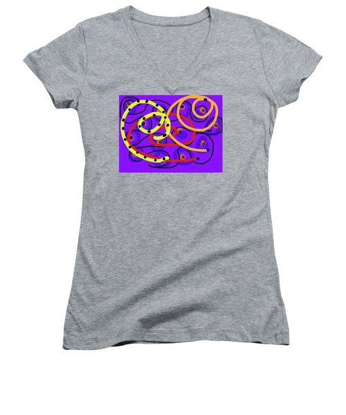 Peaceful Passion Women's V-Neck T-Shirt