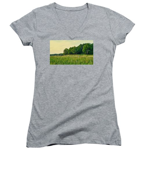 Peaceful Pastures Women's V-Neck