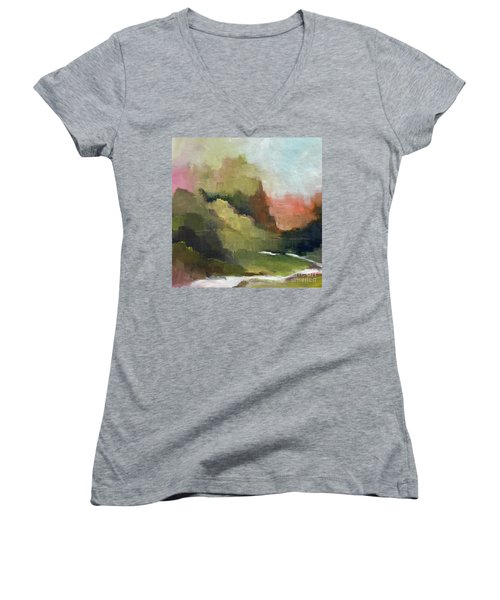 Peaceful Valley Women's V-Neck