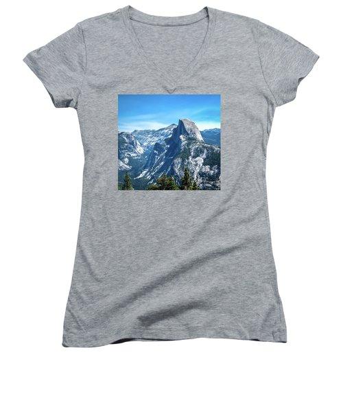 Peak Of Half Dome- Women's V-Neck