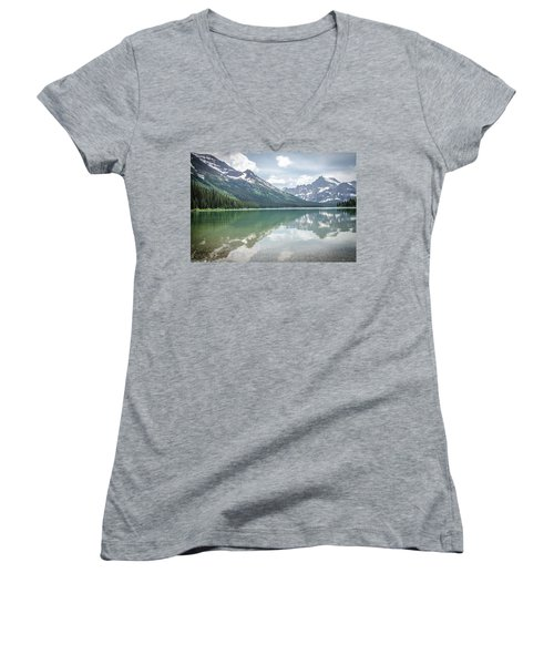 Peaks At Lake Josephine Women's V-Neck