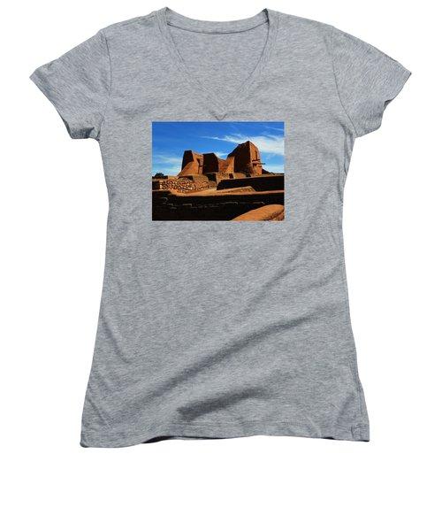 Pecos New Mexico Women's V-Neck T-Shirt