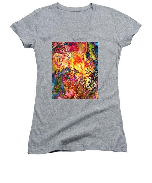 Pele Women's V-Neck T-Shirt