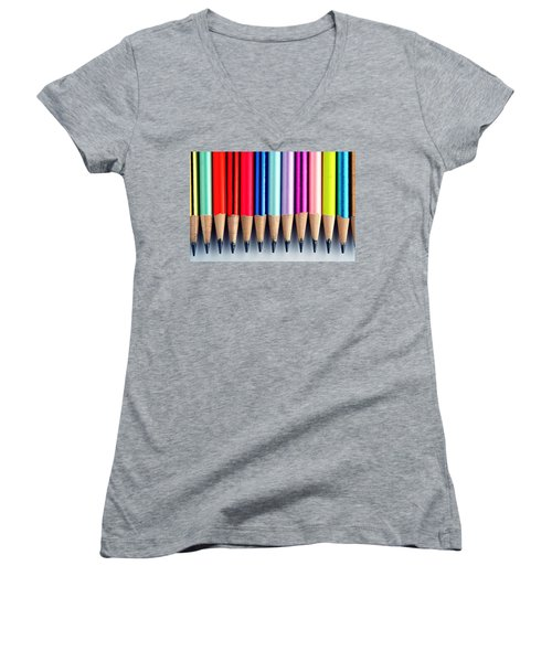 Pencils Women's V-Neck