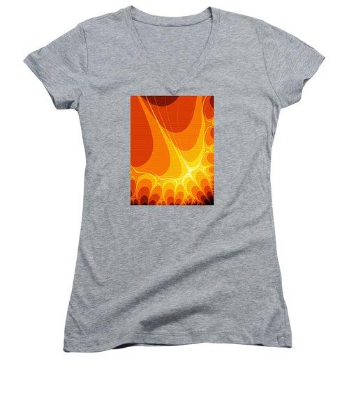 Penman Original-422 Women's V-Neck T-Shirt (Junior Cut) by Andrew Penman