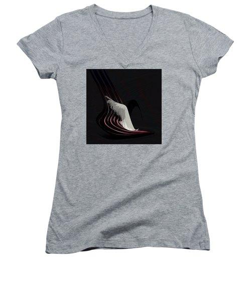 Penman Original-566 Women's V-Neck T-Shirt (Junior Cut) by Andrew Penman