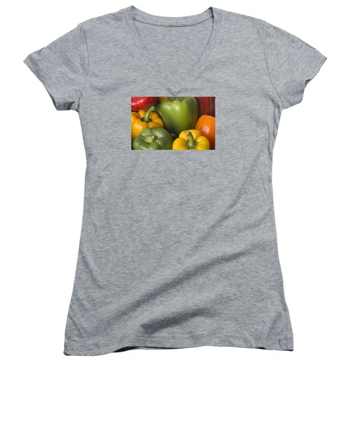 Peppered Delight Women's V-Neck (Athletic Fit)