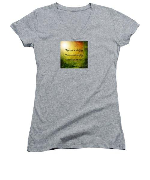 Perfect Offerings Women's V-Neck T-Shirt