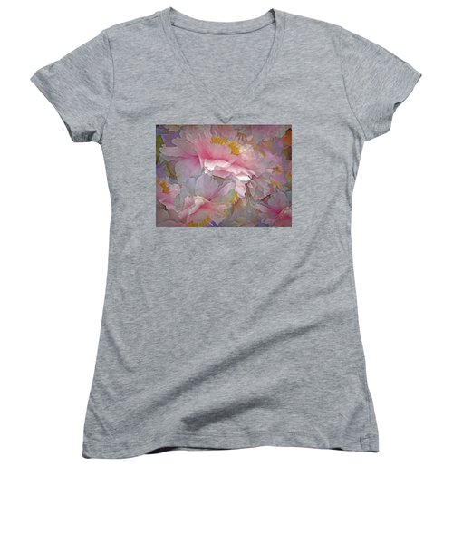 Petal Dimension 20 Women's V-Neck
