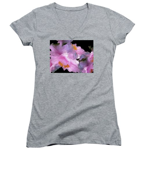 Petal Dimension 306  Women's V-Neck