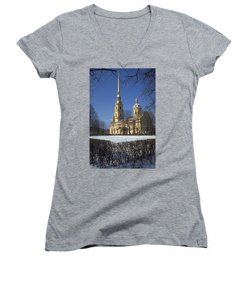 Peter And Paul Cathedral Women's V-Neck