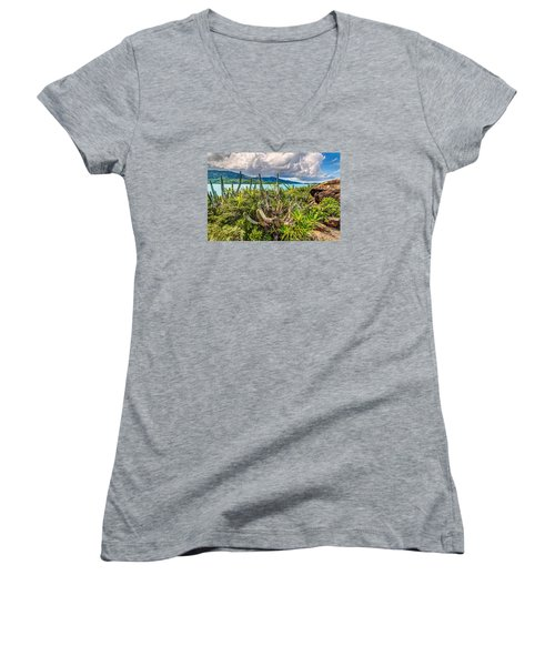 Peterborg Cactus Women's V-Neck