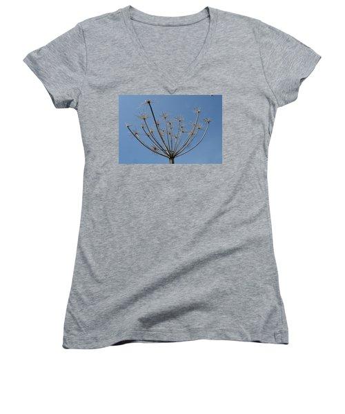 Petite Parasols Women's V-Neck T-Shirt