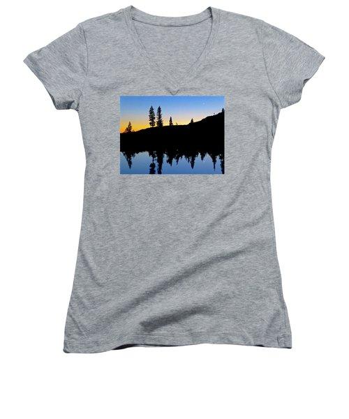 Phantom Forest Women's V-Neck T-Shirt