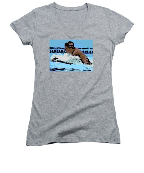 Phelps 2 Women's V-Neck (Athletic Fit)