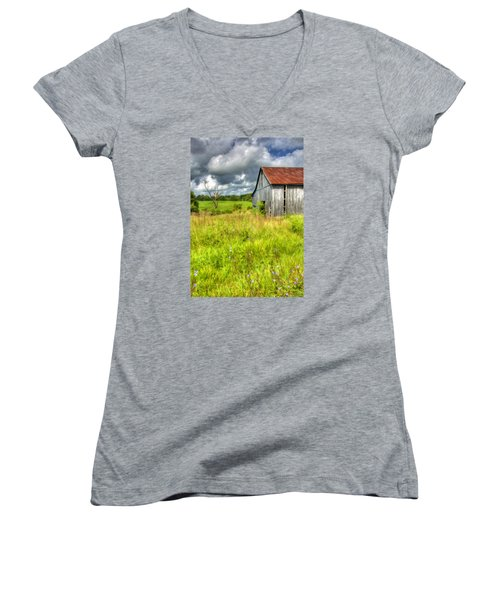 Phillip's Barn Women's V-Neck