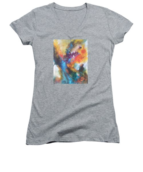 Phoenix Women's V-Neck T-Shirt (Junior Cut) by Becky Chappell