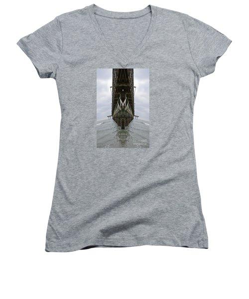 Pier Three Women's V-Neck T-Shirt