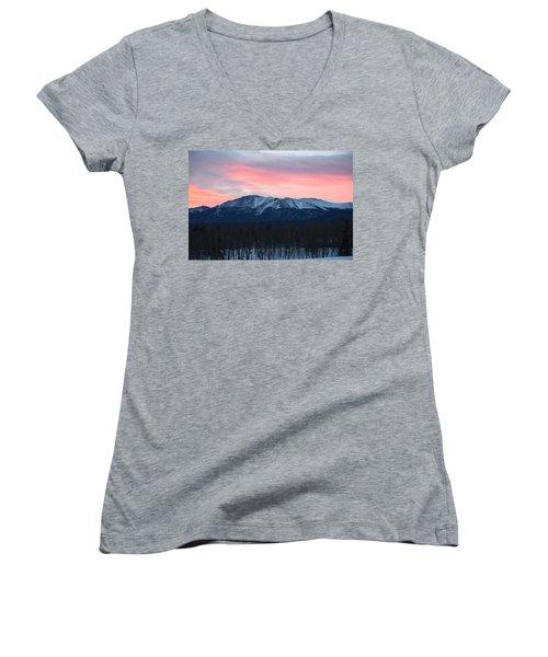 Sunrise Pikes Peak Co Women's V-Neck