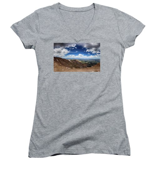 Pikes Peak Storm Women's V-Neck T-Shirt