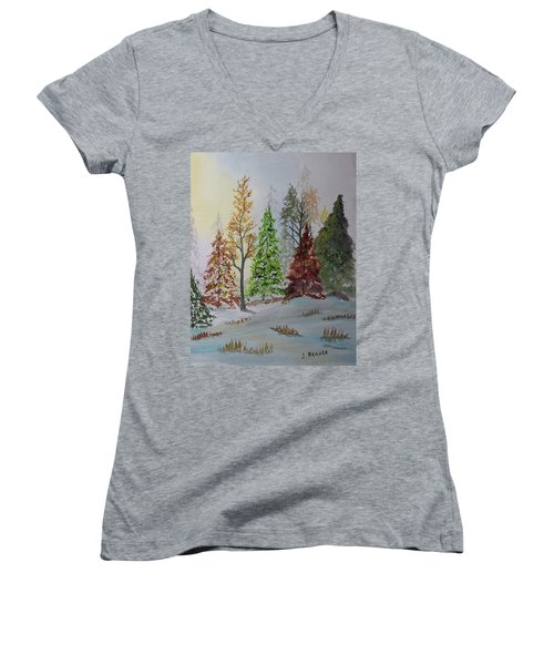 Pine Cove Women's V-Neck T-Shirt