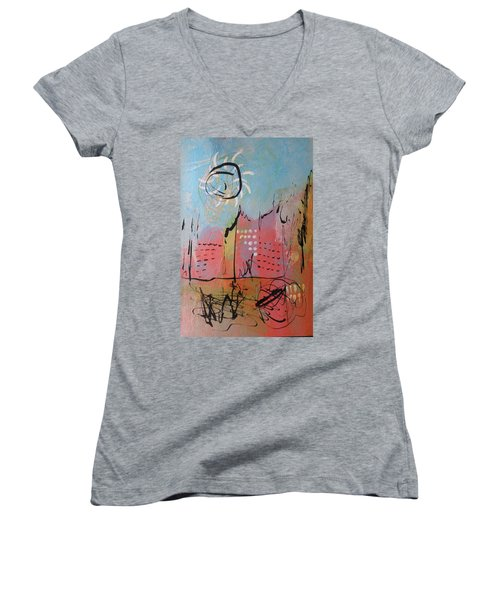 Pink City Women's V-Neck