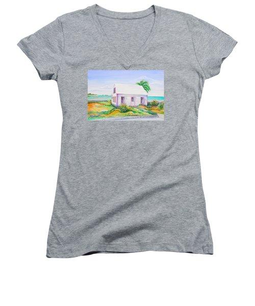 Pink Cottage Women's V-Neck T-Shirt