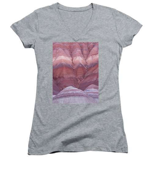 Pink Hills Women's V-Neck