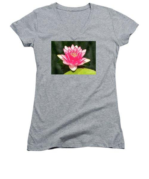 Pink Lily Women's V-Neck