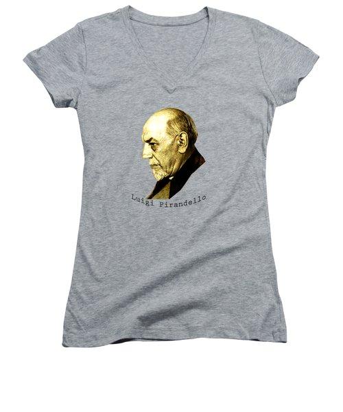 Pirandello Women's V-Neck T-Shirt