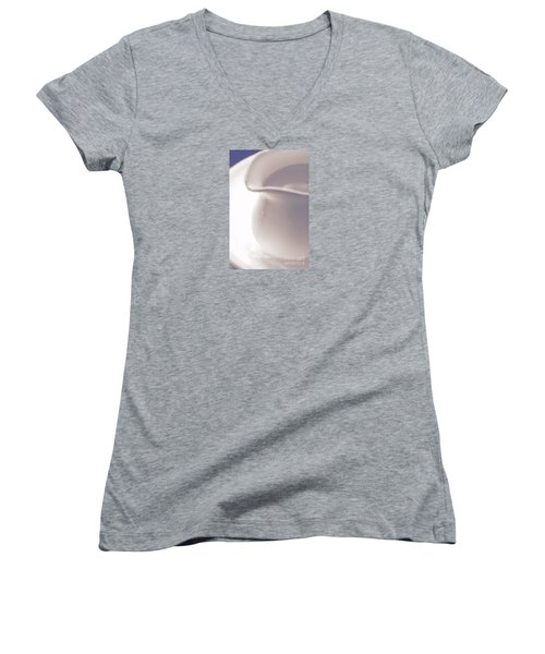 Pitcher And Bowl #5 Women's V-Neck T-Shirt (Junior Cut) by George Robinson