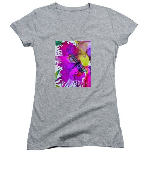 Pizzazz Women's V-Neck T-Shirt
