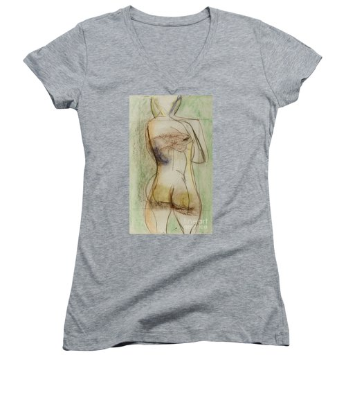 Placid Women's V-Neck T-Shirt