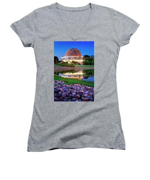Planetario Women's V-Neck T-Shirt