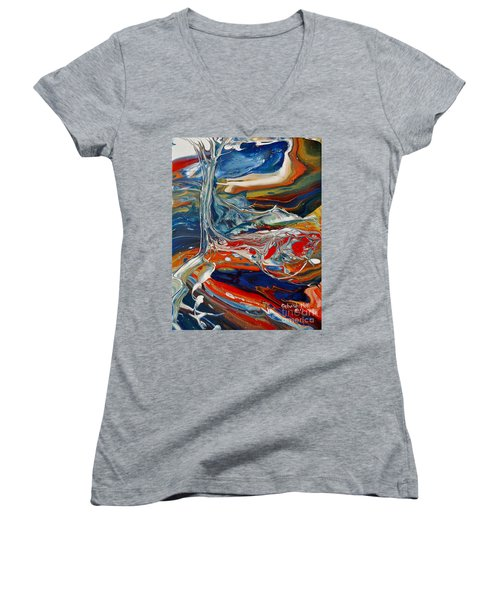 Planted By The Waters Women's V-Neck (Athletic Fit)