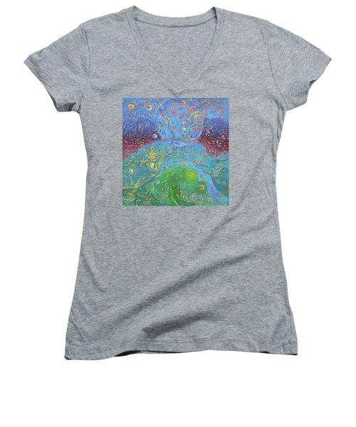 Plasma Women's V-Neck T-Shirt