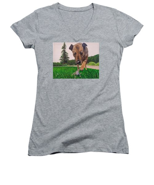 Play With Me Women's V-Neck
