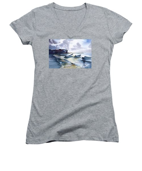 Playa Del Carmen Women's V-Neck