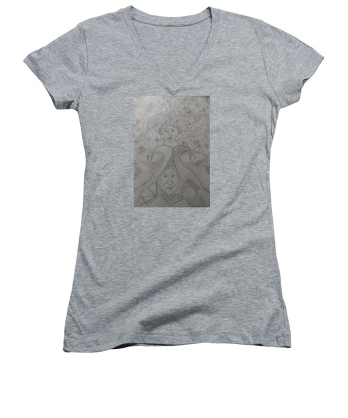 Player Women's V-Neck T-Shirt