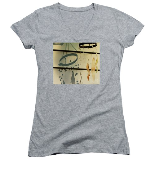 Playing With Shadows And Sunlight Lets Dance -loganville Georgia Women's V-Neck
