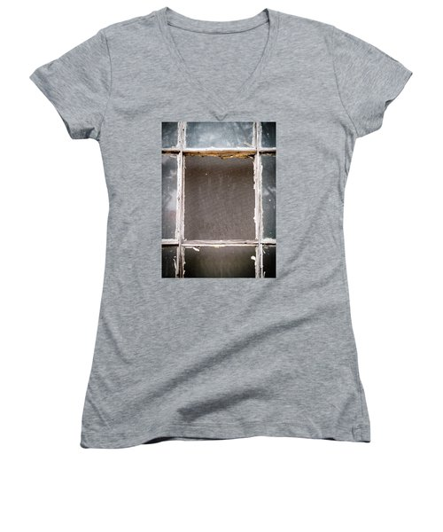 Please Let Me Out... Women's V-Neck T-Shirt (Junior Cut) by Charles Hite