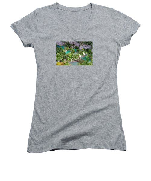 Plitvice Lakes National Park Women's V-Neck