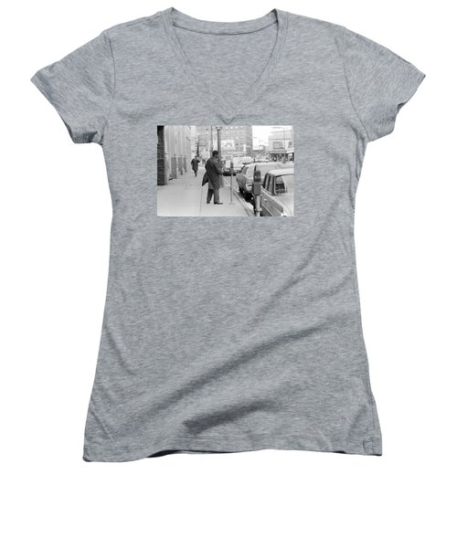 Plugging The Meter Women's V-Neck