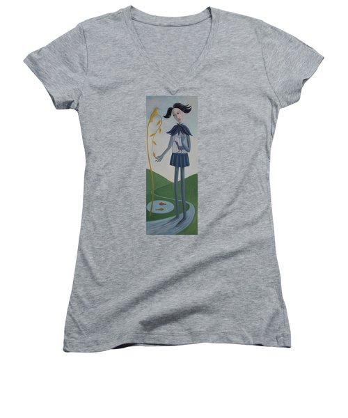Plume Women's V-Neck T-Shirt