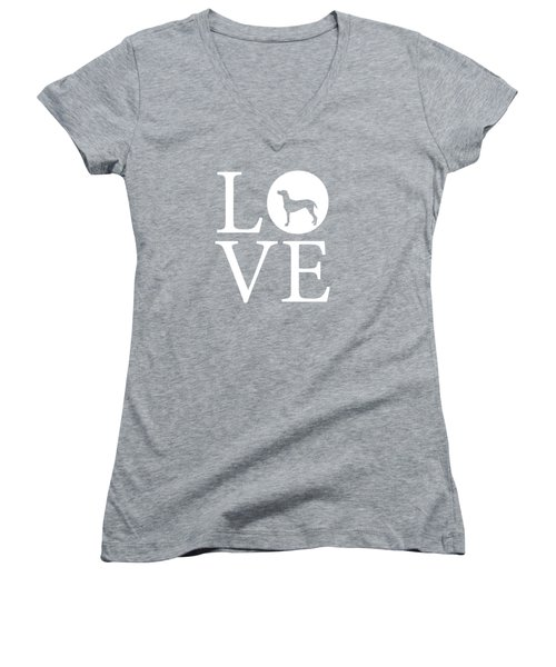Pointer Love Women's V-Neck
