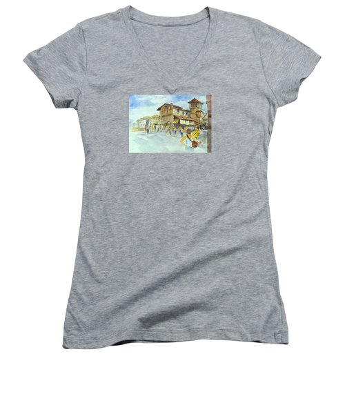Ponti Vecchio Women's V-Neck T-Shirt