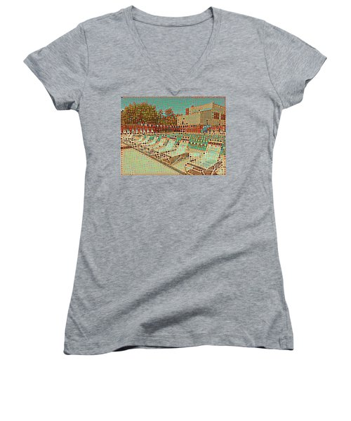 Pool #2 Women's V-Neck (Athletic Fit)