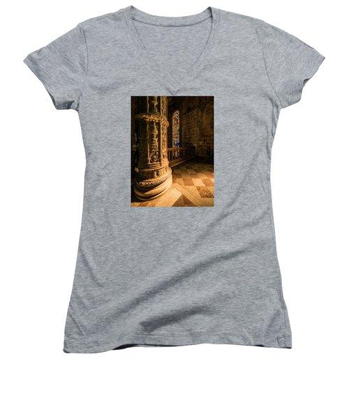 Pools Of Light Women's V-Neck T-Shirt