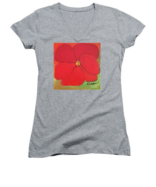 Poppy 2 Women's V-Neck